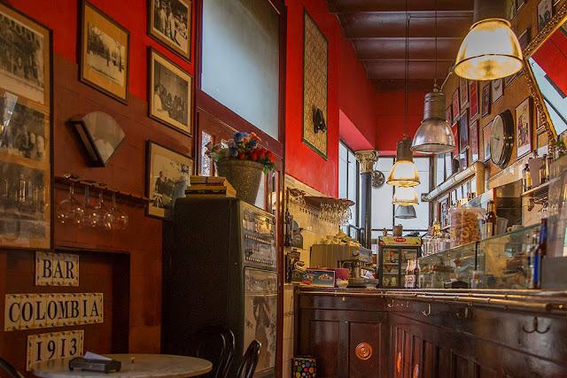 Bar Colombia 1913 Sant Andreu barcelona