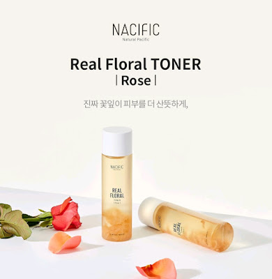 NACIFIC Natural Pacific Real Floral Toner ROSE 180 ml