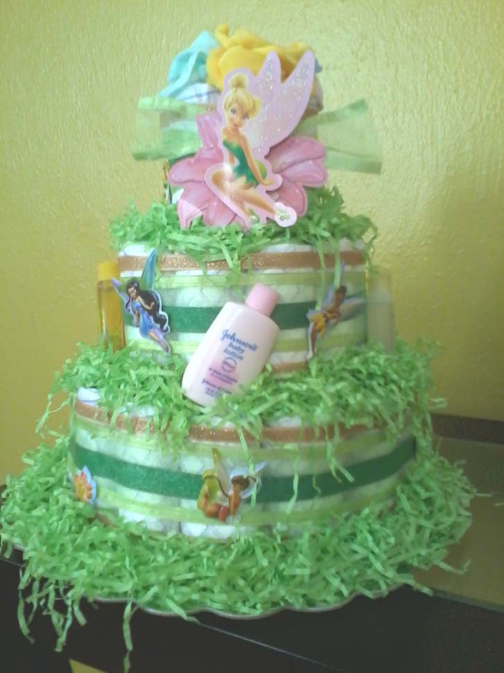 Beautiful Tinkerbell Baby Shower Cakes Jacksonville Ba Showers Bridal Showers Girls  Night Out Parties