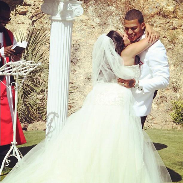 Red Carpet Wedding Natalie Nunn and Jacob Payne Red Carpet Wedding