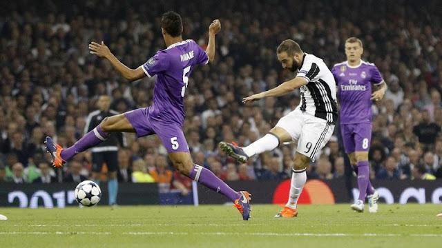 'Juventus Mengecewakan di Final UCL, Tapi Higuan yang Paling Buruk'