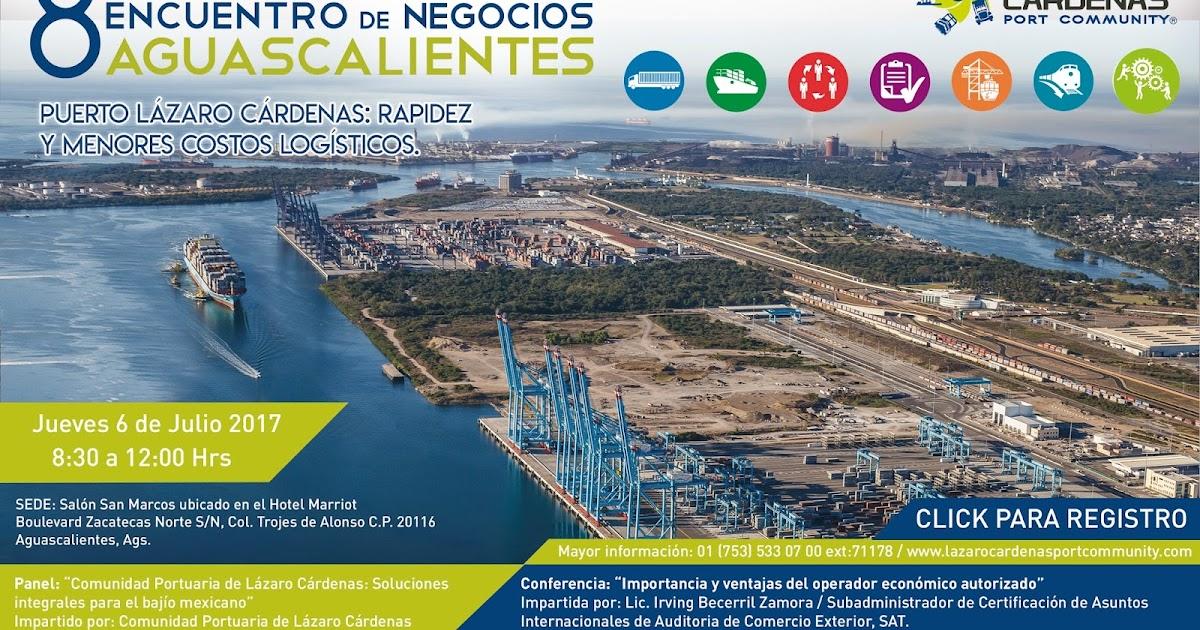Puerto Lázaro Cárdenas Realizará 8 Encuentro De Negocios En