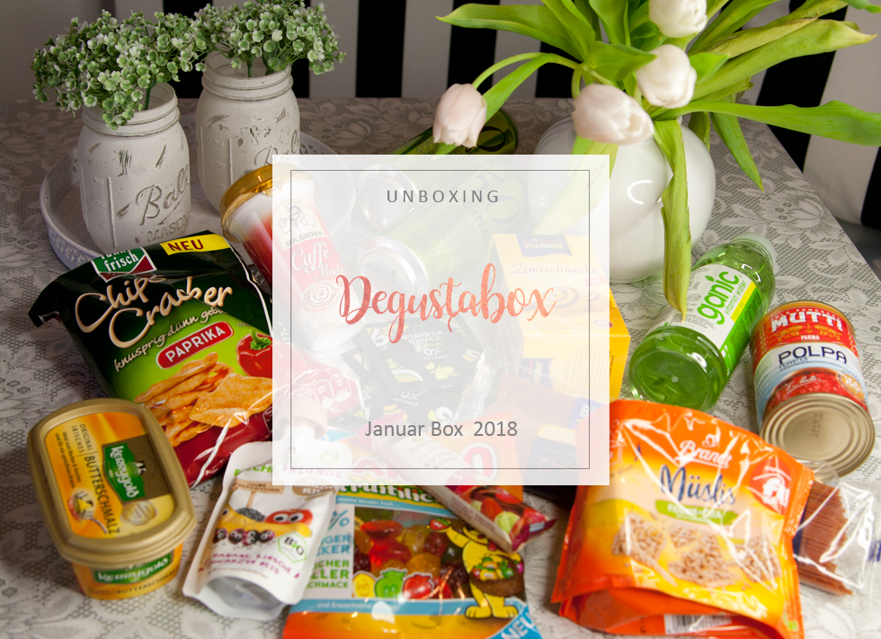 Degustabox - Januar 2018 - unboxing