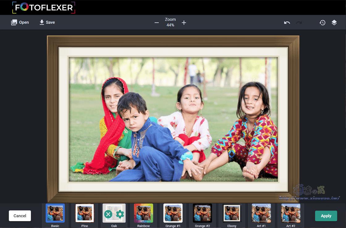 FotoFlexer 免費線上圖片編輯器