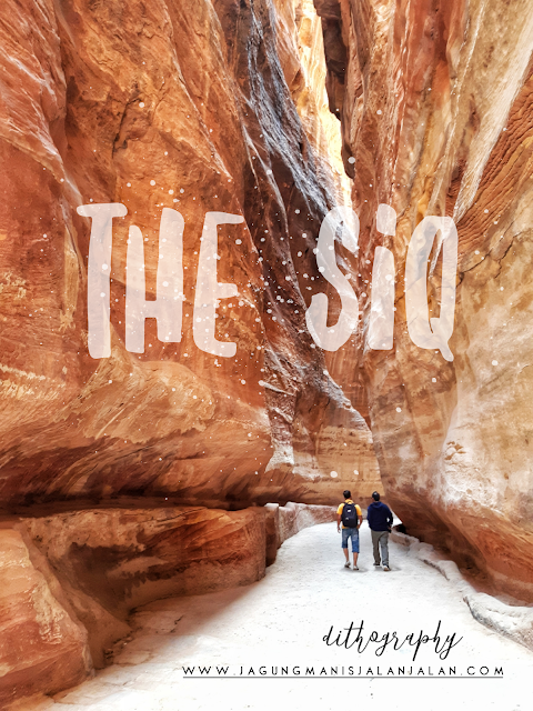 the siq, petra, the rose red city