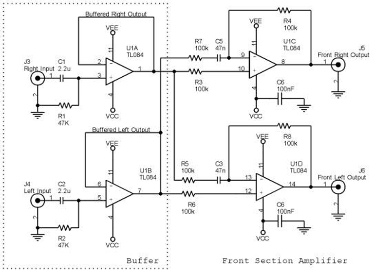 5 1channel Home Theater Ckt Diagrams Hq  Circuit Diagram