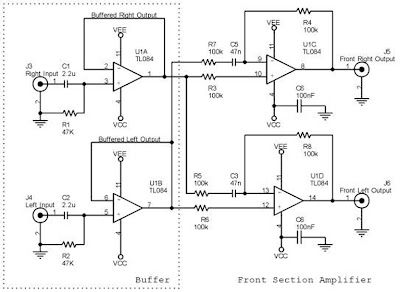 Front Channel 5.1 Amplifier
