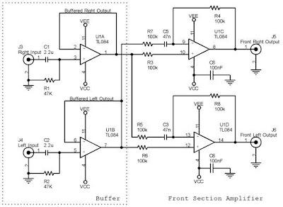 Front Channel 5.1 Amplifier