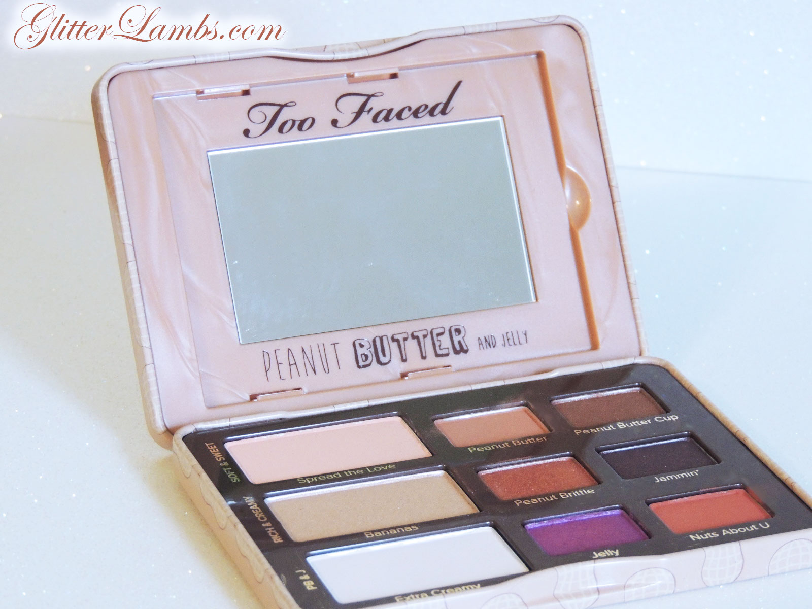 too faced peanut butter and jelly tutorial