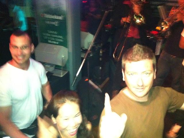 La conga en Bangkok