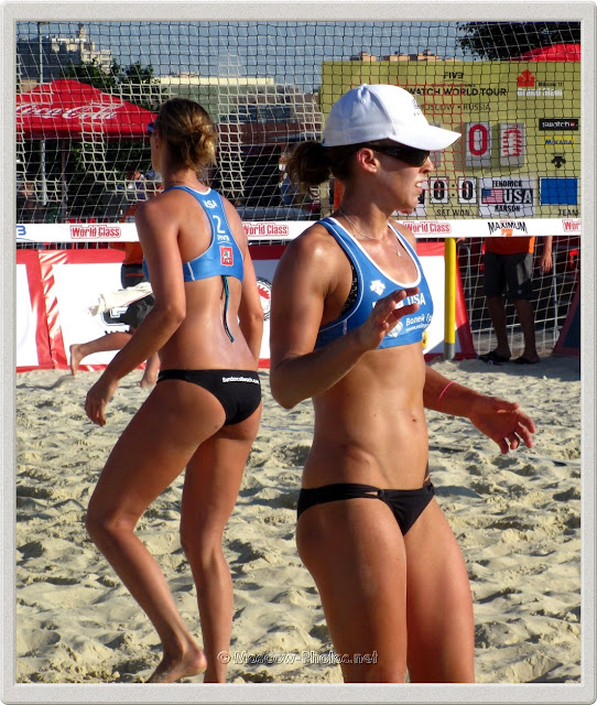 Lauren Fendrick & Brooke Hanson at Moscow Grand Slam 2011