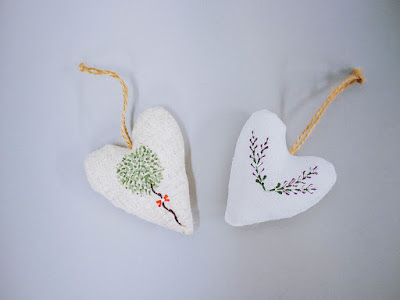 Decorated with our Series 2 Starter kit dotty designs, whether plain or filled with Lavender create a cute little gift.