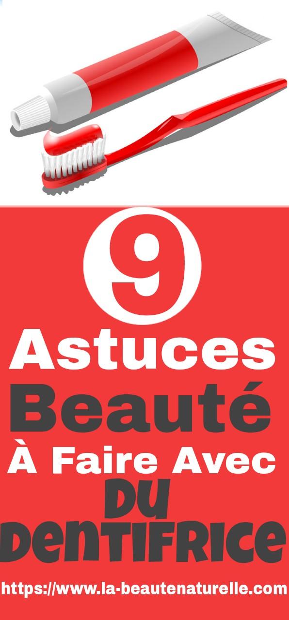 9 astuces beauté à faire avec du dentifrice