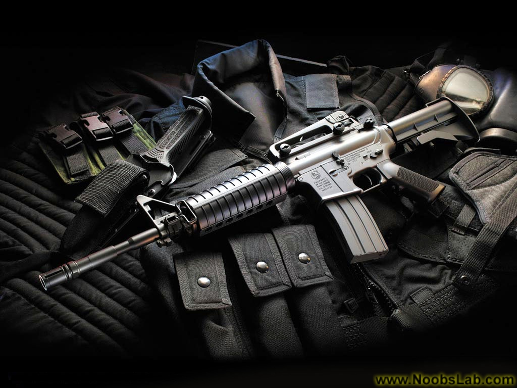 HD Guns Wallpapers - NoobsLab   Tips for Linux, Ubuntu, Reviews, Tutorials, and Linux Server