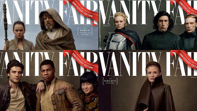 Το περιοδικό Vanity Fair αποκαλύπτει στο εξώφυλλο του το νέο Star Wars!