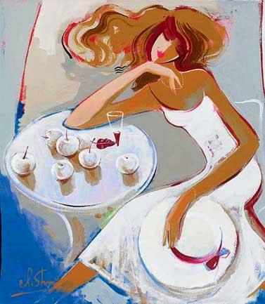 Sonhos de Verão - Irene Sheri e suas românticas pinturas