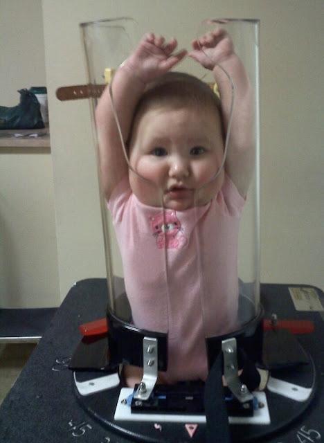 Machine Pix - Pigg-O-Stat pediatric immobilizer for x-raying children