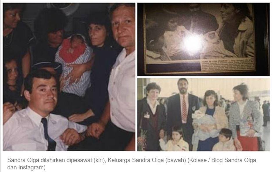 Siapa Sangka! Bayi yang Lahir di Pesawat Hebohkan Dunia, Kini Jadi Artis Cantik Terkenal di Indonesia