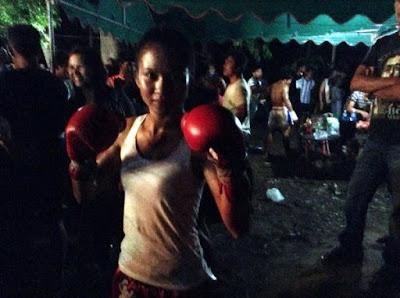 Танква тайский боксер