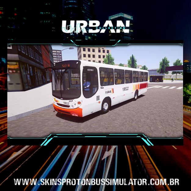 Skin Proton Bus Simulator - Comil Svelto 2000 MB OF-1418 Viação Rubanil