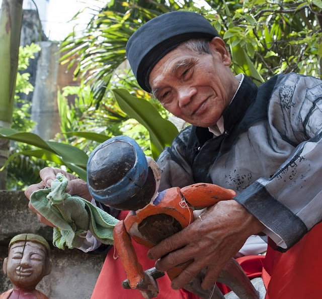 Dao Thuc Village water puppetry lures visitors 2