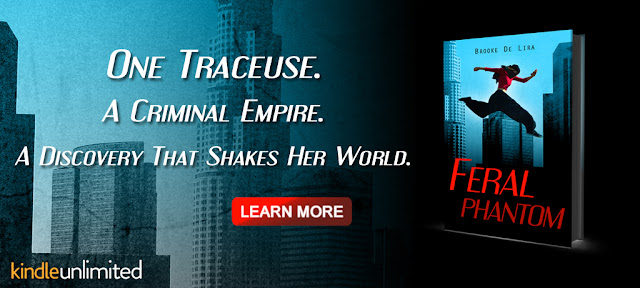Novel Banner for Parkour Book Feral Phantom