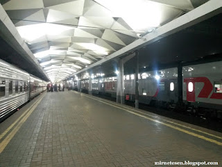 Ленинградский вокзал, Москва