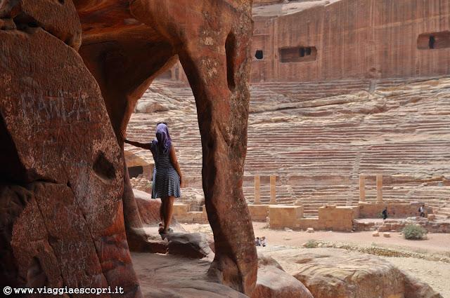 Il mio stupore davanti a Petra - foto di Gian Luca Sgaggero