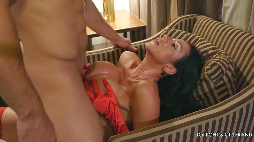 Trisha swallows in hotel sluts 5