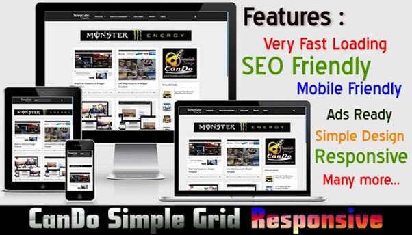 Mobile first responsive 12 column grid template 1 using only html5.