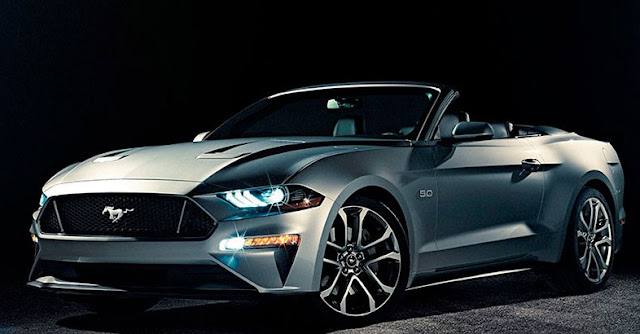 The new Ford Mustang slimmer