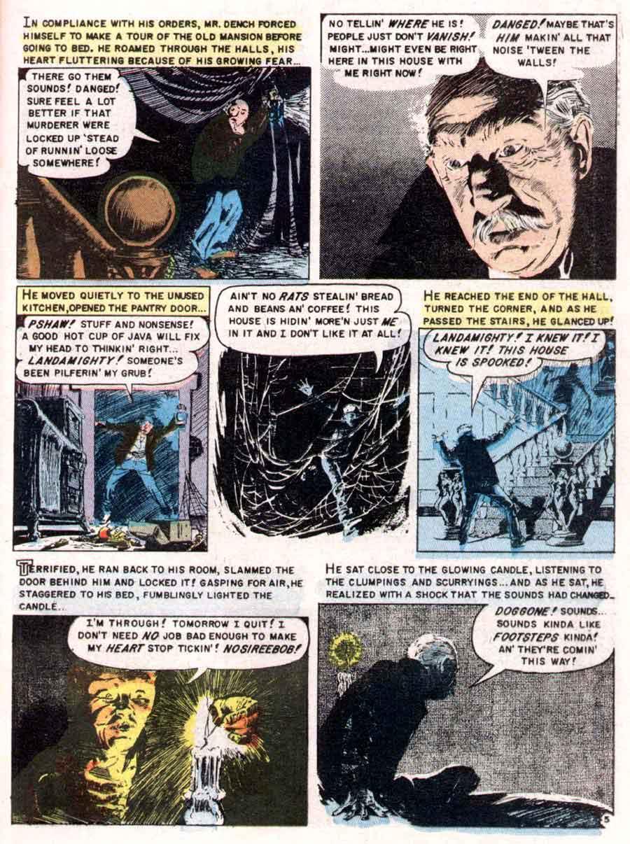 Vault of Horror #37 - Al Williamson art - Pencil Ink