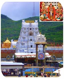 Lord Venkateswara Temple in Tirumala Balaji