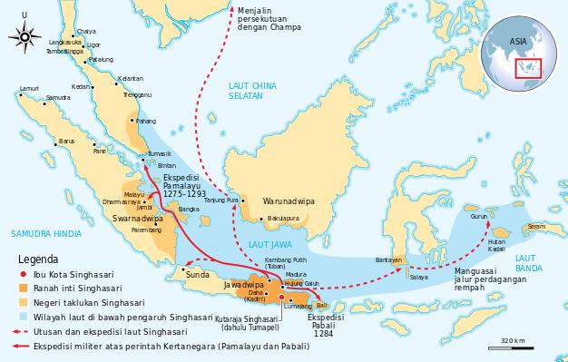 Kerajaan Singasari, Masa Pendirian, Kejayaan Dan Keruntuhan 1222-1292 M
