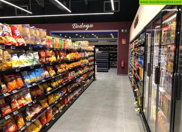Atraco al Supermercado Spar La Laguna en Los Llanos de Aridane