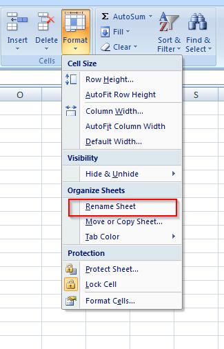Microsoft Excel Tutorial How To Rename A Worksheet ...