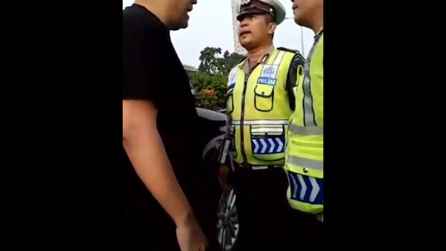 Video Viral Pengendara Fortuner 'Songong' Maki Polisi dengan Kata-kata Kotor di Semanggi