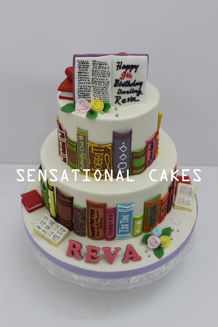 The Sensational Cakes Classic 3d Book Theme Cake