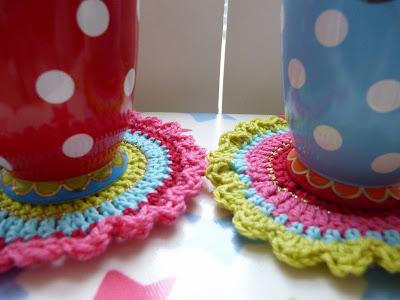 Ilonas Blog Oilily Onderzetters Haken Coasters Crochet
