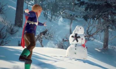 Captain Spirit, Snowmancer, snowman