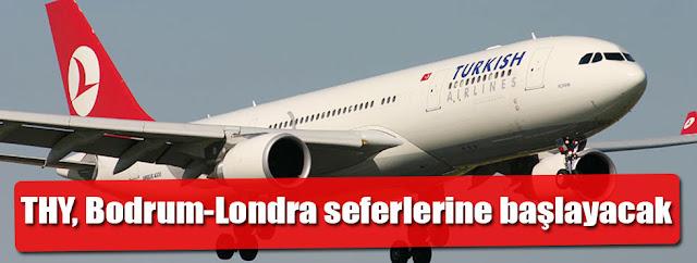 Bodrum - Londra Direkt Uçak Seferleri
