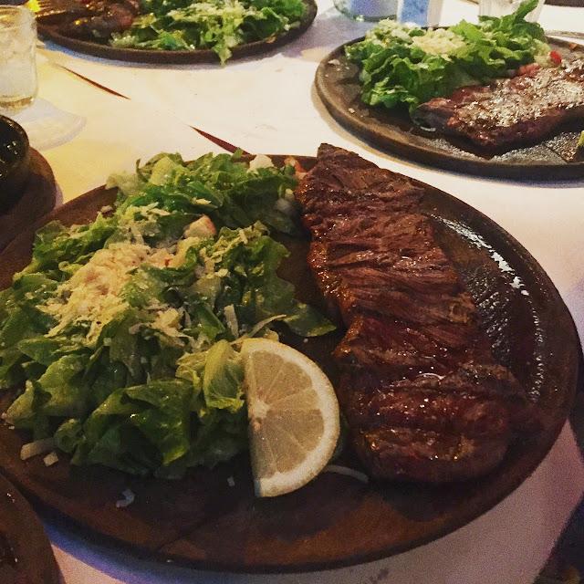 Steak im Las Cabras Buenos Aires, Palermo