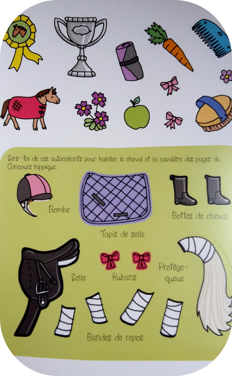 Coloriage Cheval Avec Selle.Les Lubies De Ludi Les Poneys Sont A L Honneur Aux Editions Usborne