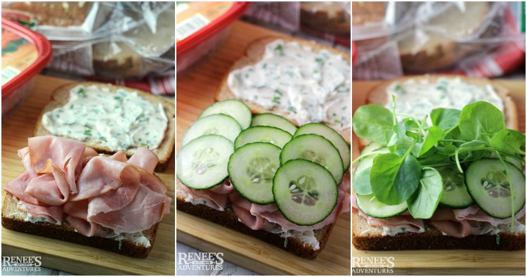 Ham, Cucumber and Watercress Sandwiches | Renee's Kitchen Adventures
