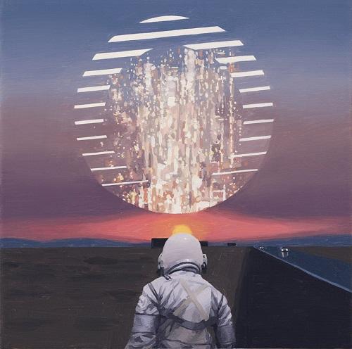 """Circle"" - Scott Listfield | imagenes de arte bellas, pinturas tristes nostalgicas, cuadros, astronautas, sad art pictures, cool stuff"