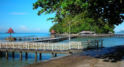 Wisata Sumatra Barat Pantai Carocok Kota Painan