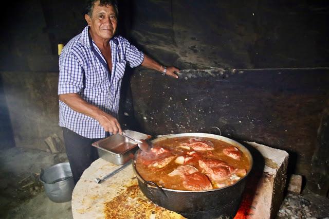 cochinita pibil de Julio, Holbox ,Yucatan, Mexico