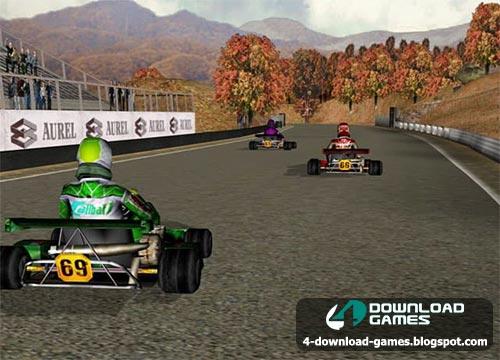 لعبة سباق السيارات Open Kart Free PC