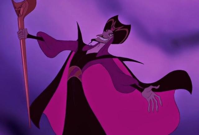 Jafar, Villano de Aladdin - Ficha de Personaje para D&D 5ª Edición