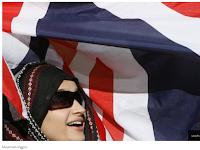 Aksi Bela Alquran Juga Dilakukan di Inggris